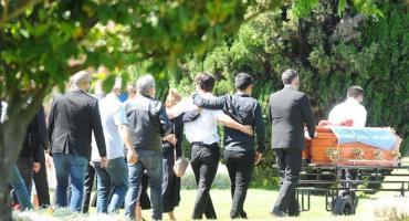Los restos de Jorge Brito fueron sepultados en Pilar envueltos en una bandera Argentina