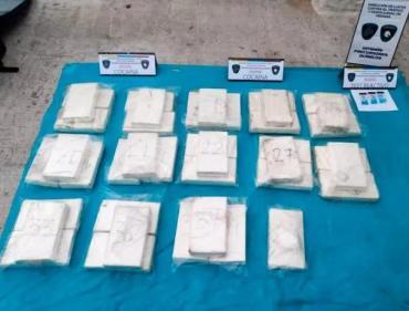 Detuvieron a la hermana del jugador de River, Nicolás de la Cruz, con 41 kilos de cocaína
