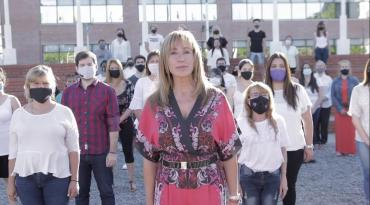 """""""Ni una lágrima más"""" campaña de Dulce Granados contra la violencia de género"""