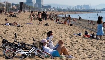 ¿Cómo será el protocolo si en las playas bonaerenses alguien se contagia de coronavirus?