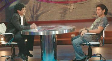 El día que Maradona se entrevistó a si mismo y habló de la muerte