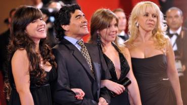 Maradona anuló el testamento a favor de Dalma y Gianinna