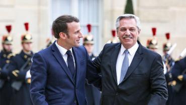 Alberto Fernández dialoga con Emmanuel Macron: coronavirus, deuda externa y acuerdo Mercosur-UE