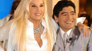 Las sentidas palabras que  la Diva de los teléfonos le dedicó a Diego en Instagram