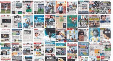 ¿Cuáles fueron las tapas de los principales diarios del mundo para despedir a Maradona?