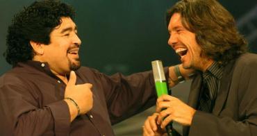 La emotiva despedida de Marcelo Tinelli a Diego Maradona