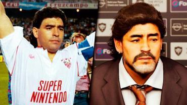Diego Armando Maradona  figura muy importante en los videojuegos
