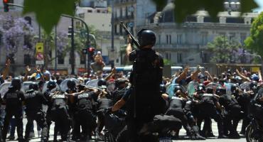 Despedida a Maradona: tras los incidentes hubo 11 detenidos