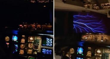 Video viral: azafata muestra un extraño fenómeno natural en pleno vuelo