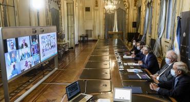 Coronavirus: Alberto Fernández tuvo reunión virtual con gobernadores antes de anunciar próxima fase de aislamiento