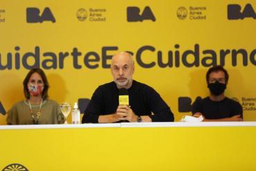 Rodríguez Larreta brinda detalles sobre inicio de clases presenciales en la Ciudad de Buenos Aires