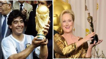 Maradona hizo que Meryl Streep sea tendencia en Twitter