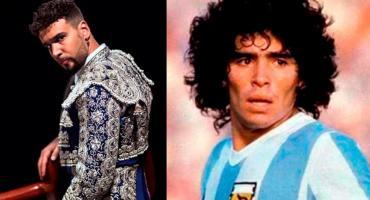Dante Spinetta despidió a Diego Maradona con una canción