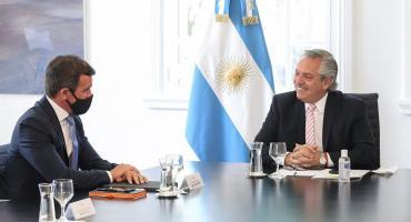 Alberto Fernández se reunió con directivos de Ford, que prometieron inversión por U$S580 millones