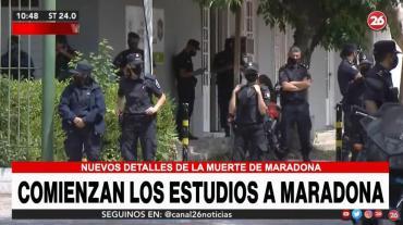 Muerte de Diego Maradona: comenzaron las pericias toxicológicas complementarias a la autopsia