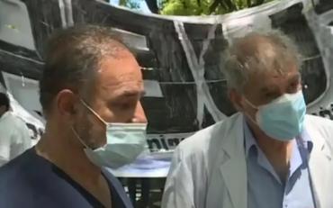 En plena protesta de médicos, murió el jefe de obstetricia del hospital Ramos Mejía