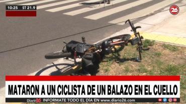 Asesinaron a ciudadano armenio en Retiro: le dispararon en el cuello y para robarle la bicicleta