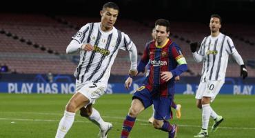 Juventus, con dos goles de Cristiano Ronaldo, goleó al Barcelona de Messi por 3 a 0