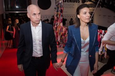 Horacio Rodríguez Larreta distanciado de su esposa Bárbara Diez