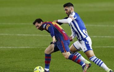 Barcelona venció a Real Sociedad por La Liga, pero Messi no alcanzó el record de Pelé