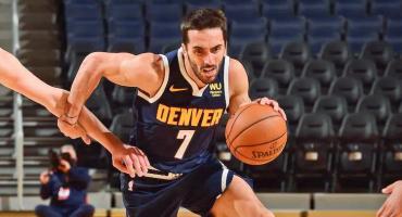 Cumplió el sueño: Campazzo debutó oficialmente en la NBA en la derrota de Denver Nuggets