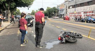 Video impactante: así fue el choque que dejó a una joven muerta en La Paternal