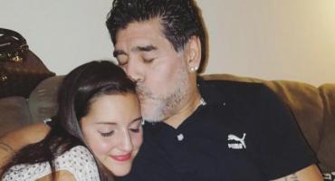 Jana Maradona recordó a su papá en Navidad