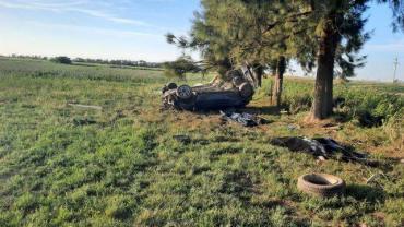 Tragedia en Santa Fe: volcó un auto y murieron tres mujeres