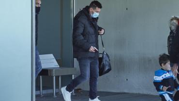 Lionel Messi y su familia volvieron a Barcelona