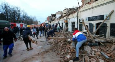 Temor por el poderoso sismo en Croacia que sacude a todo un país