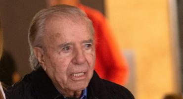 Carlos Menem salió del coma inducido y le retiraron el respirador artificial