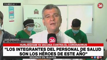 Juan Zabaleta, intendente de Hurlingham: