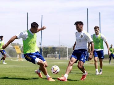 Boca arranca la pretemporada, con Marcos Rojo cada vez más cerca