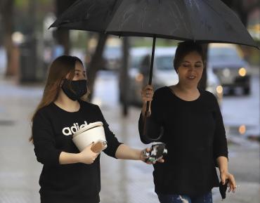 Fin de semana caluroso, pero con probabilidad de lluvias en Capital y alrededores