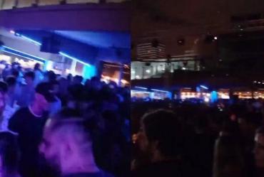VIDEO: la impresionante fiesta en un boliche de la playa de Mar del Plata a la vista de todos