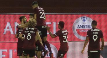 Lanús goleó a Vélez y clasificó a la final de la Copa Sudamericana