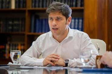 Axel Kicillof se metió en la tensa interna entre Martín Guzmán y Federico Basualdo