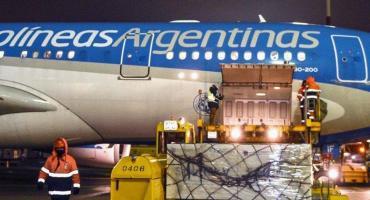 Llegó a Moscú el avión de Aerolíneas Argentina que traerá la segunda tanda de la Sputnik V