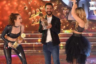 """Agustín """"Cachete"""" Sierra e Inbal Comedi, campeones del """"Cantando 2020"""""""