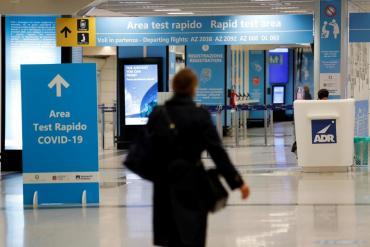 Italia bloqueó los vuelos desde Brasil para evitar que nuevas cepas del coronavirus