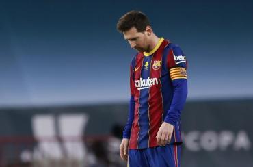 Messi no apareció y se hundió el Barcelona: Athletic Bilbao, campeón de la Supercopa de España