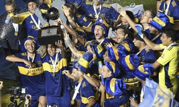 Boca campeón de la Copa Diego Armando Maradona