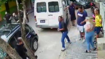 Ciudad oculta: batalla callejera entre amenazas, golpes y disparos por el servicio de cable y de Internet