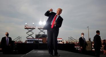 Trump convocó a una fiesta de despedida cuatro horas antes de que Biden asuma como presidente