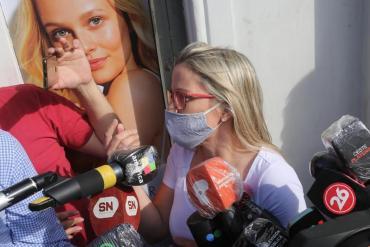 Carolina Píparo insistió que se trató de un accidente y querella la denunciará por falso testimonio