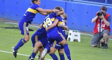 Boca aplastó a River en la final y se quedó con el primer torneo femenino profesional de AFA