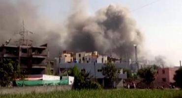 Voraz incendio en gran planta de producción de vacunas contra coronavirus en India: ¿Peligra la producción?