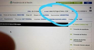 Macri sufrió un hackeo de su cuenta de Mi ANSES: alteraron el correo electrónico y pusieron