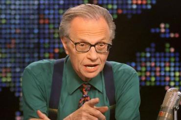 Murió Larry King, el famoso presentador de radio y televisión de Estados Unidos