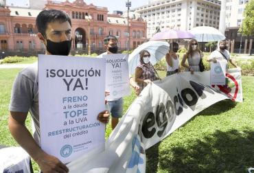 Deudores hipotecarios reclaman audiencia con Alberto Fernández por temor a perder sus viviendas